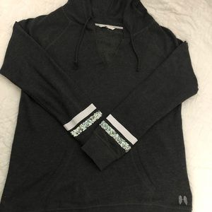 Victoria Secret Tunic Style Hoodie, sz lg, $27 EUC